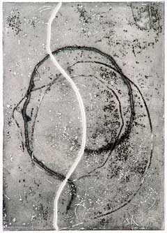 Monotype Print by Francois Fiedler