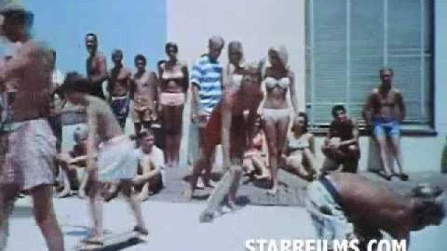 1966 SURFING & SKATEBOARDING & BIKINIS